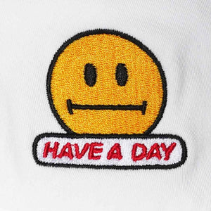 """HAVE A DAY"" 80s-90s STYLE BUCKET HAT"