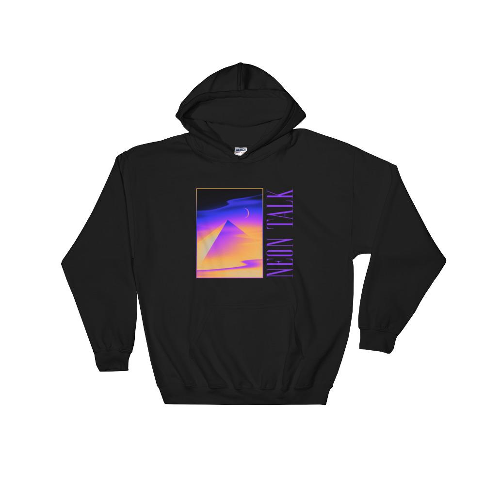 """Pyramid Dreams"" Hoodie by Victor Moatti"