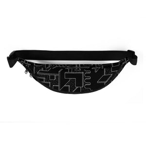 Space Cubes Fanny Pack by Vengodelvalle