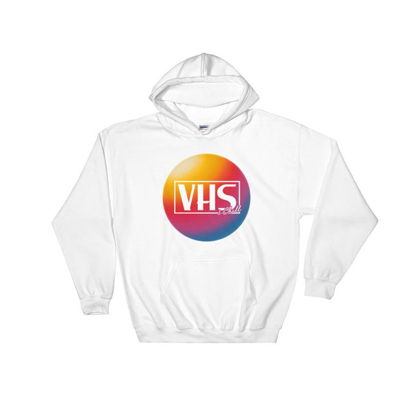 """VHS & Chill"" Hoodie by Freshcolor"