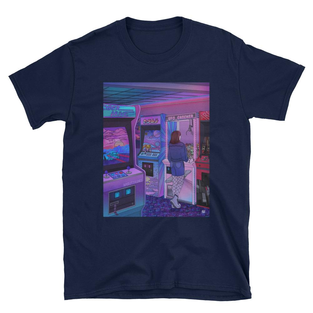 """Arcade"" T-shirt by Kelsey Smith / Amidstsilence"