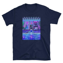 "Load image into Gallery viewer, ""Midnight Reflections"" T-shirt by Amidstsilence / Kelsey Smith"