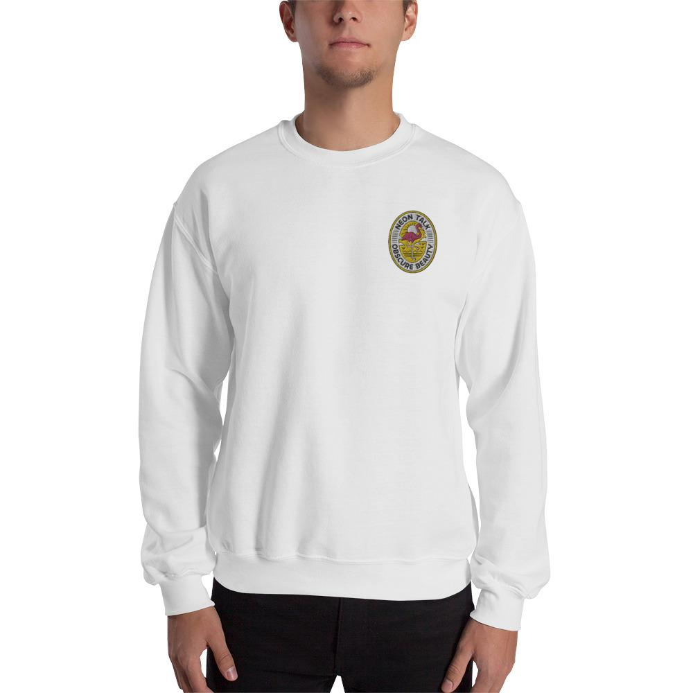 "New! ""Obscure Beauty"" Neon Talk Classic Unisex Sweatshirt"