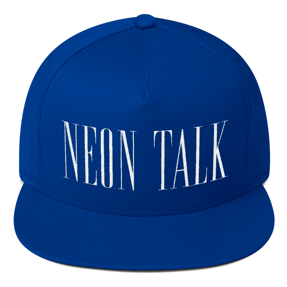 """Clean"" Neon Talk Cap"