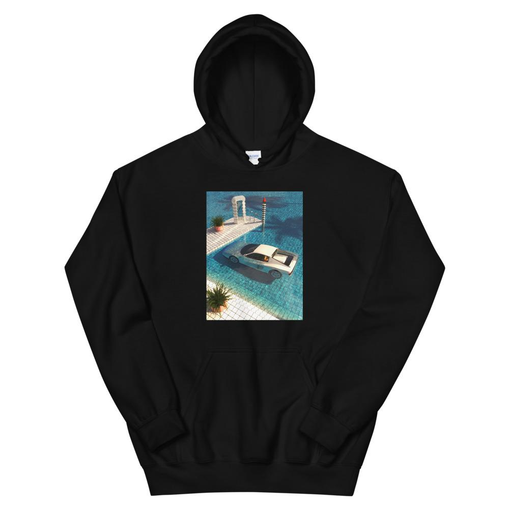 """Definitely Miami"" Unisex Hoodie By SR Formica"