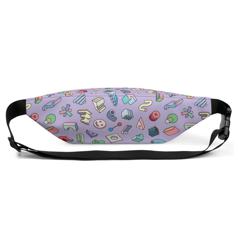 Fifty Shades of Pastel Fanny Pack by Vengodelvalle