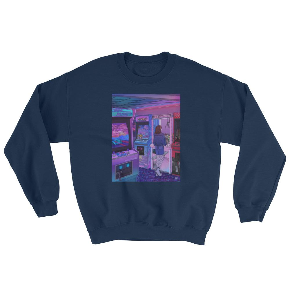 """Arcade"" Sweatshirt by Kelsey Smith / Amidstsilence"