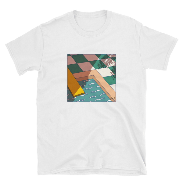 """The Pool Room"" T-shirt by George Greaves"