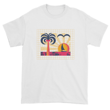 "Load image into Gallery viewer, ""Sunset Vibes"" T-shirt by Andrea Manzati"