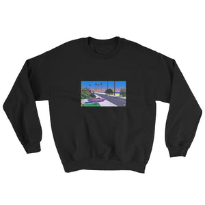 """Tropical Transit"" Unisex Sweatshirt by Trey Trimble"