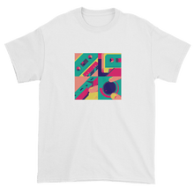 "Load image into Gallery viewer, ""Cassette Moves"" T-shirt by Andrea Manzati"