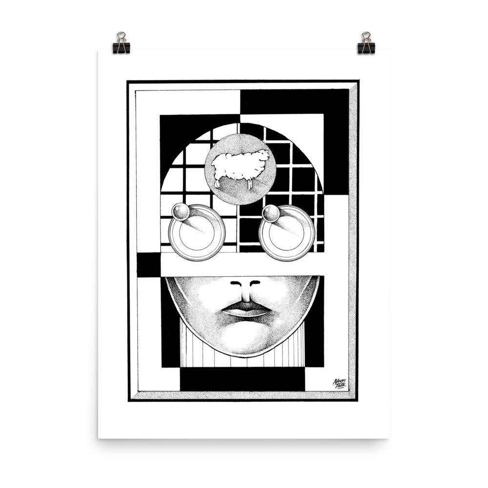 """Android"" Art Print by Lu'ay Sami"