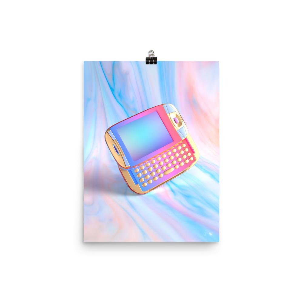 """Vapor Phone"" Art Print by Blake Kathryn"
