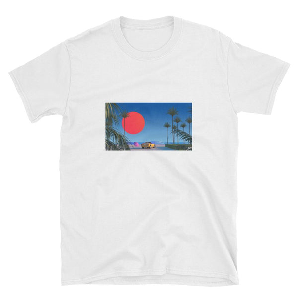"""BEACH BOY"" UNISEX T-SHIRT BY TREY TRIMBLE"