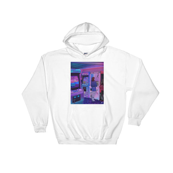 """Arcade"" Hoodie by Kelsey Smith"