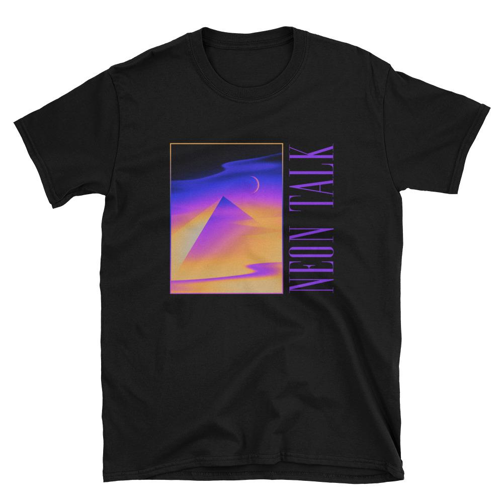 """Pyramid Dreams"" T-shirt by Victor Moatti"