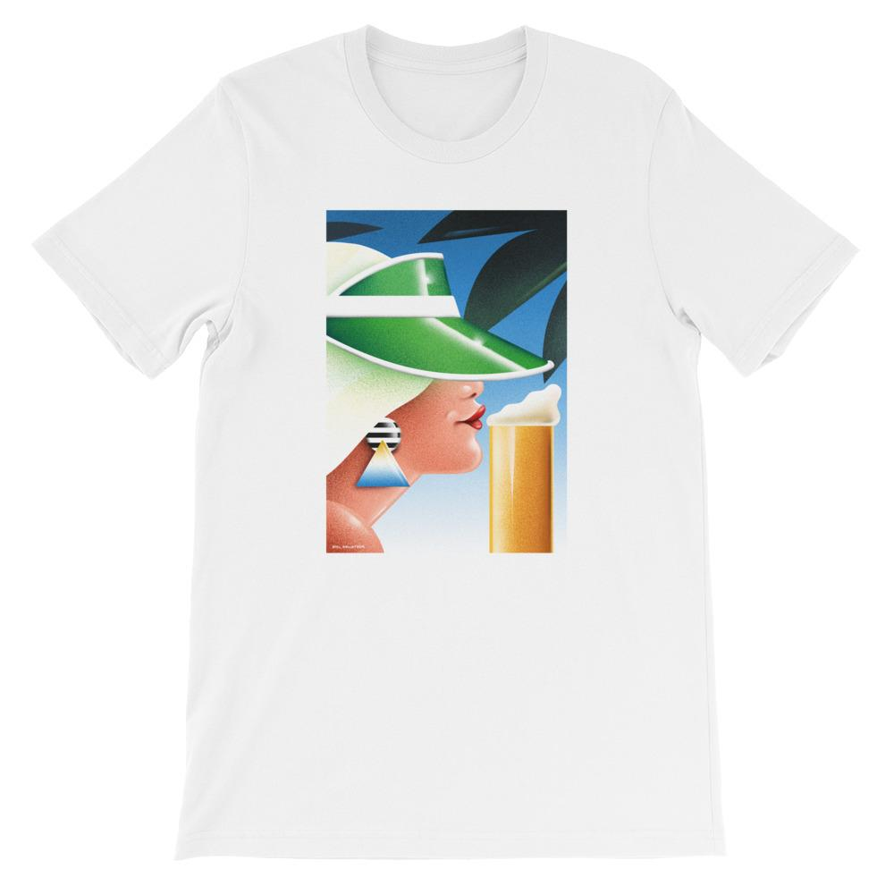 """Beer under the Cap"" T-shirt by Emil Sellström"
