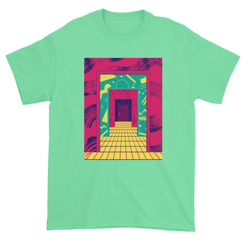 """Tunnel"" T-shirt by Andrea Manzati"