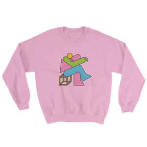 "Thomas Hedger ""Think!"" Sweatshirt Pink"
