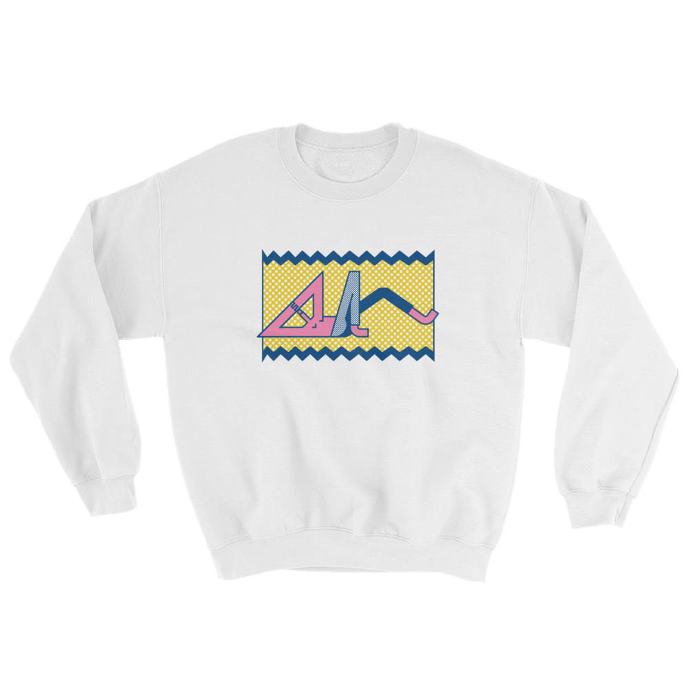 "Thomas Hedger ""Relax!"" Sweatshirt White"