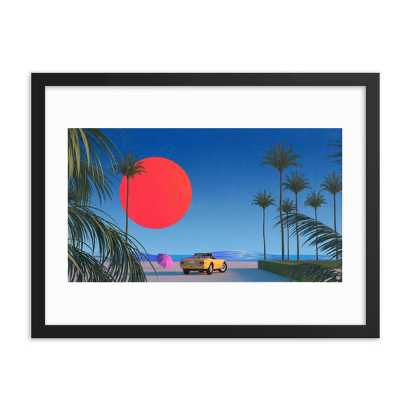 """Beach Boy"" Art Print by Trey Trimble"