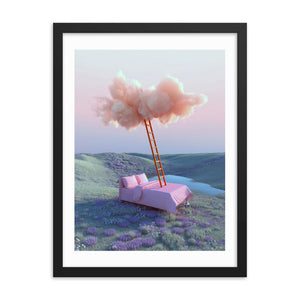 """Climb that Ladder"" Art Print by Yomagick / Maciek Martyniuk"
