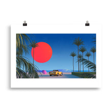 "Load image into Gallery viewer, ""Beach Boy"" Art Print by Trey Trimble"