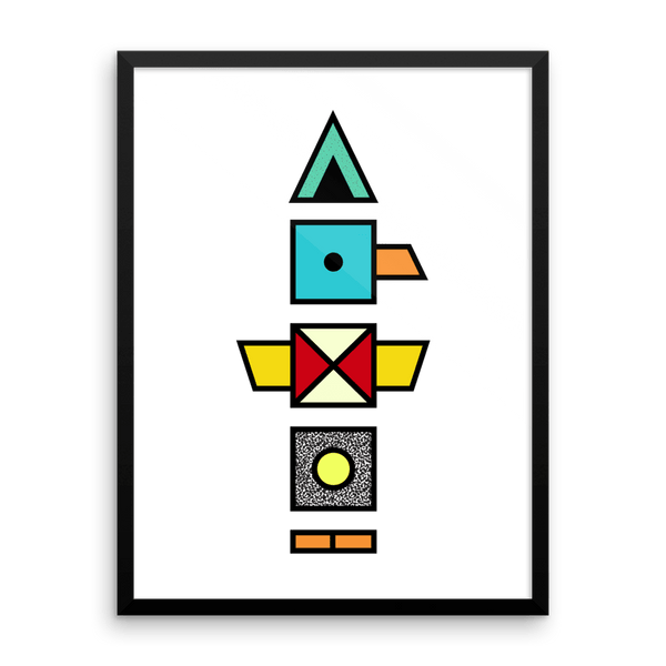 """Totem"" Art Print by SIXTIUS"