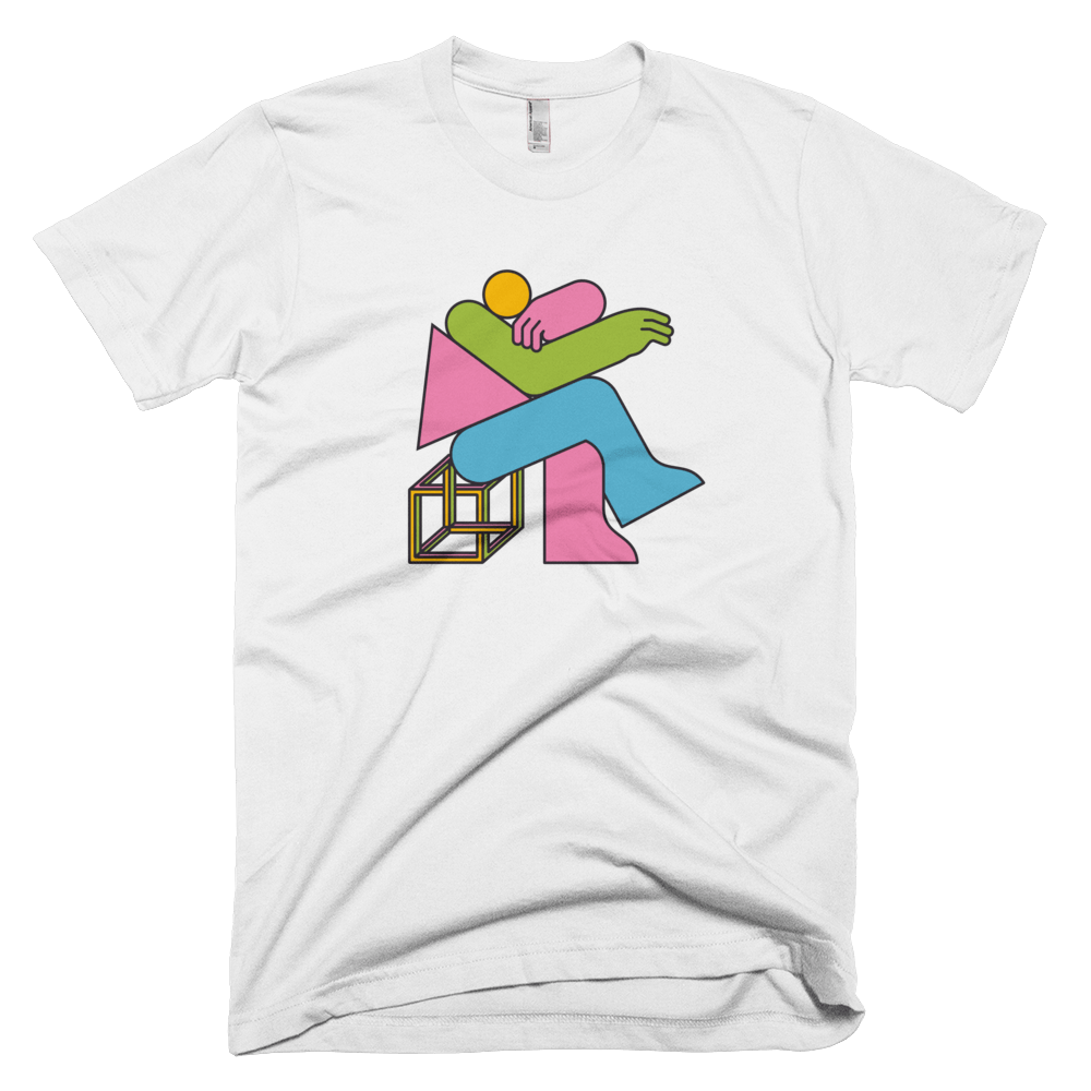 "Thomas Hedger ""Think!"" Unisex T-shirt White"