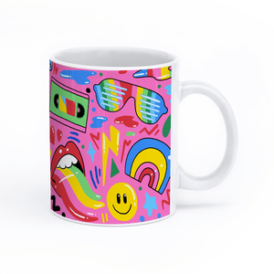 "Ms Wearer Mug ""In Rainbows"""