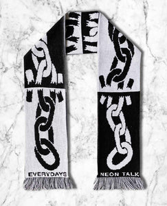 Broken Link Knitted Scarf by Everydays