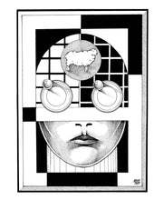 "Load image into Gallery viewer, ""Android"" Art Print by Lu'ay Sami"