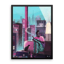 "Load image into Gallery viewer, ""Midnight Wind"" Art Print by Marianna Tomaselli"