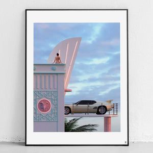 """Penthouse"" Art Print by SR Formica"