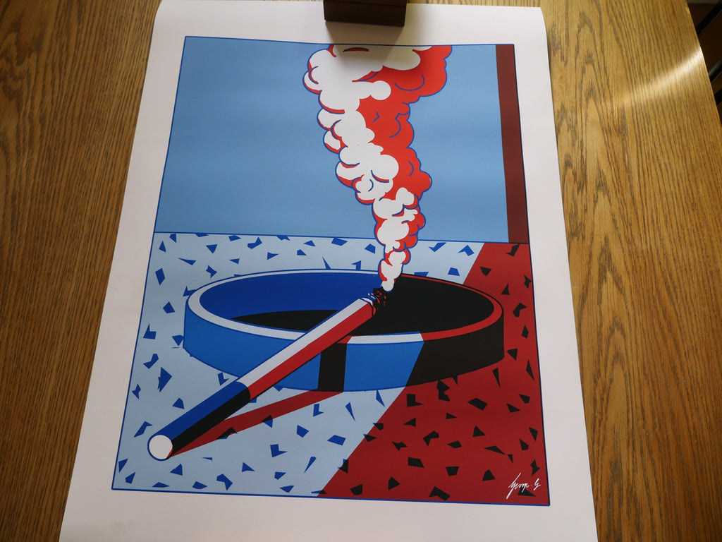 """Smokin' in Memphis"" Art Print by George Greaves"