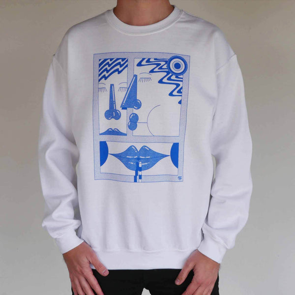 """Sunday Thoughts"" Sweatshirt by Clay Hickson"