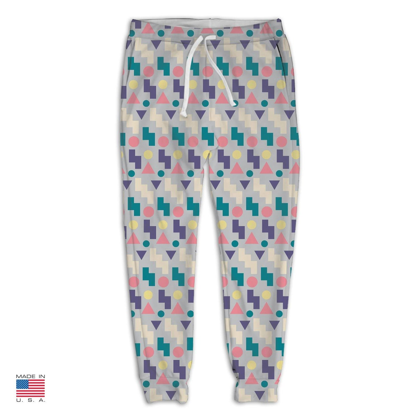 Taco Talk Gray Joggers by Freshcolor