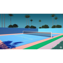 "Load image into Gallery viewer, ""TENNIS TIME"" UNISEX t-shirt BY TREY TRIMBLE"