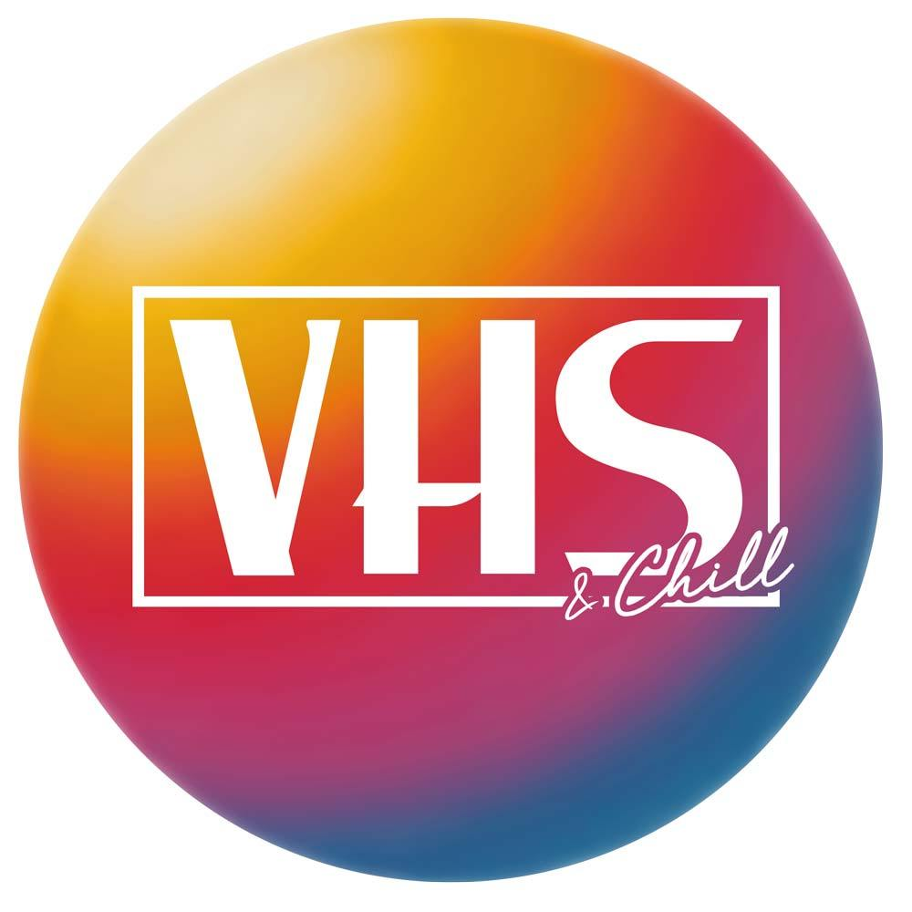 """VHS & Chill"" Unisex T-Shirt by Freshcolor"