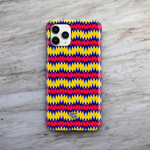 Zig Zag Tropical Phone Case by Freshcolor