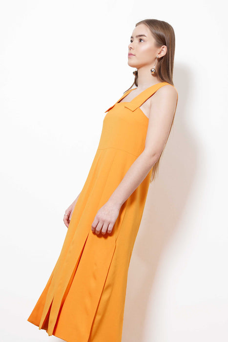 Fringed Dress (Orange)