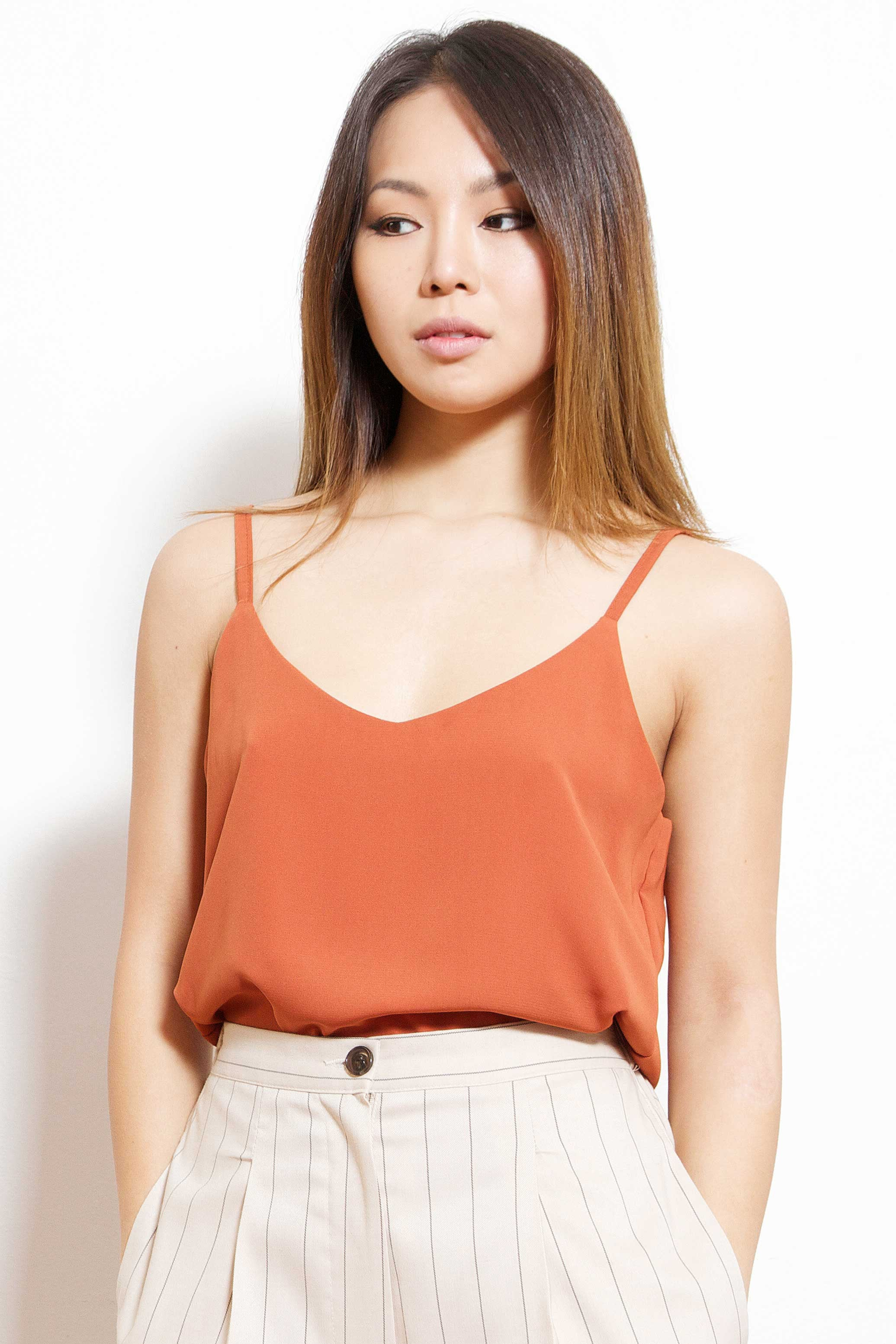 Silky Cami (Orange)
