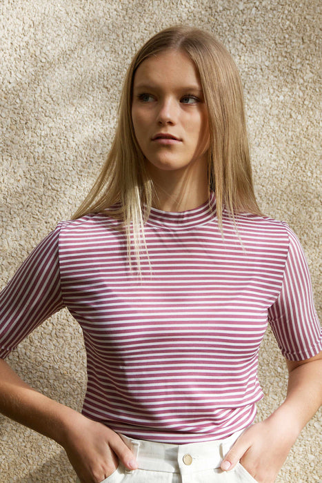Candy Stripe T-Shirt (Pink)