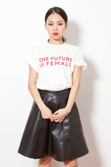 Future Female T-Shirt (Red)