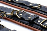 Coax Leather Collar to Wrist Restraints - Diddleworld.com - 7