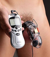 Electro Lockdown Estim Male Chastity Cage - Diddleworld
