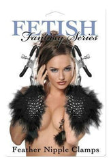 Fetish Fantasy Feather Nipple Clamps - Diddleworld