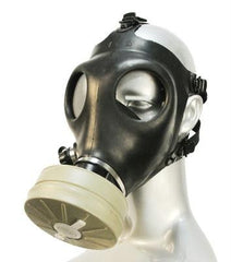 Israeli Gas Mask With Filter - Diddleworld