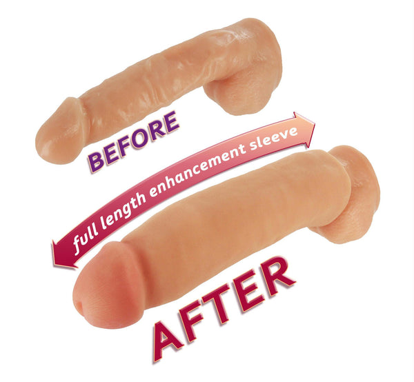 Fat Jack Penis Enlarger Sleeve - gain another 2 inches
