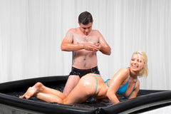 Nuru Inflatable Vinyl Massage Sheet - Diddleworld